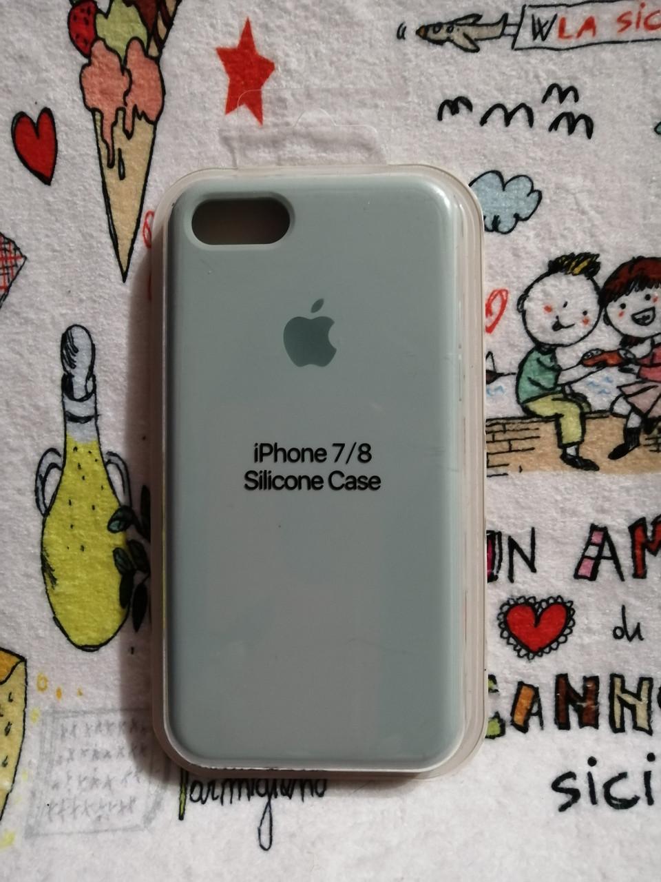 Силиконовый чехолApple Silicone CaseдляiPhone 7 / 8 - Color 26