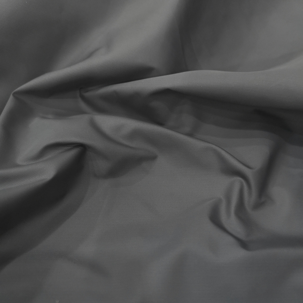 Плащевая ткань канада темно-серая