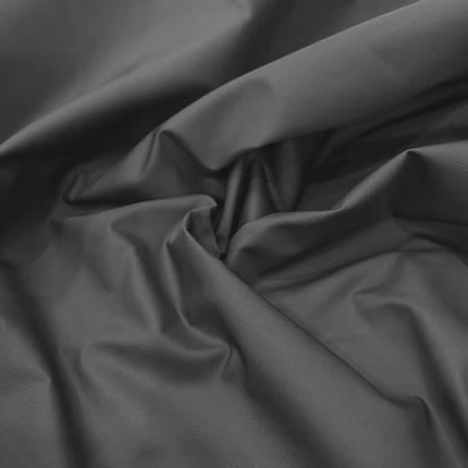 Плащевая ткань канада темно-серая, фото 2