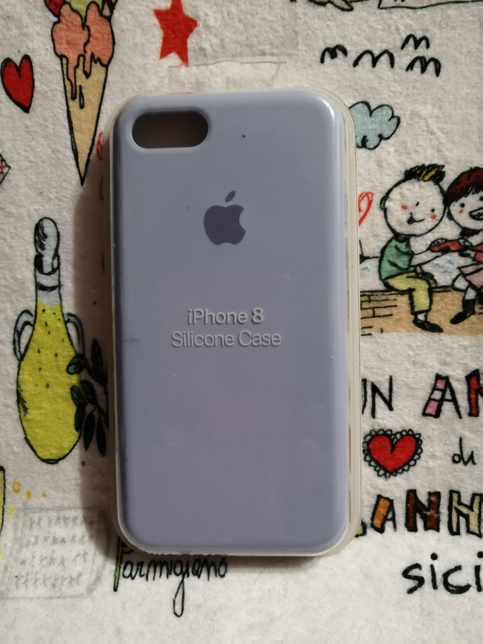 Силиконовый чехолApple Silicone CaseдляiPhone 7 / 8 - Color 28
