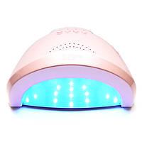 LED+UV лампа для маникюра SUN One 48W Розовая