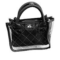 Женская сумка lady bag A Чёрная (S05380)