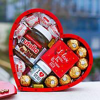"""Подарочный набор """"Нежность"""". Подарок на День Святого Валентина жене, женщине, девушке, любимой."""