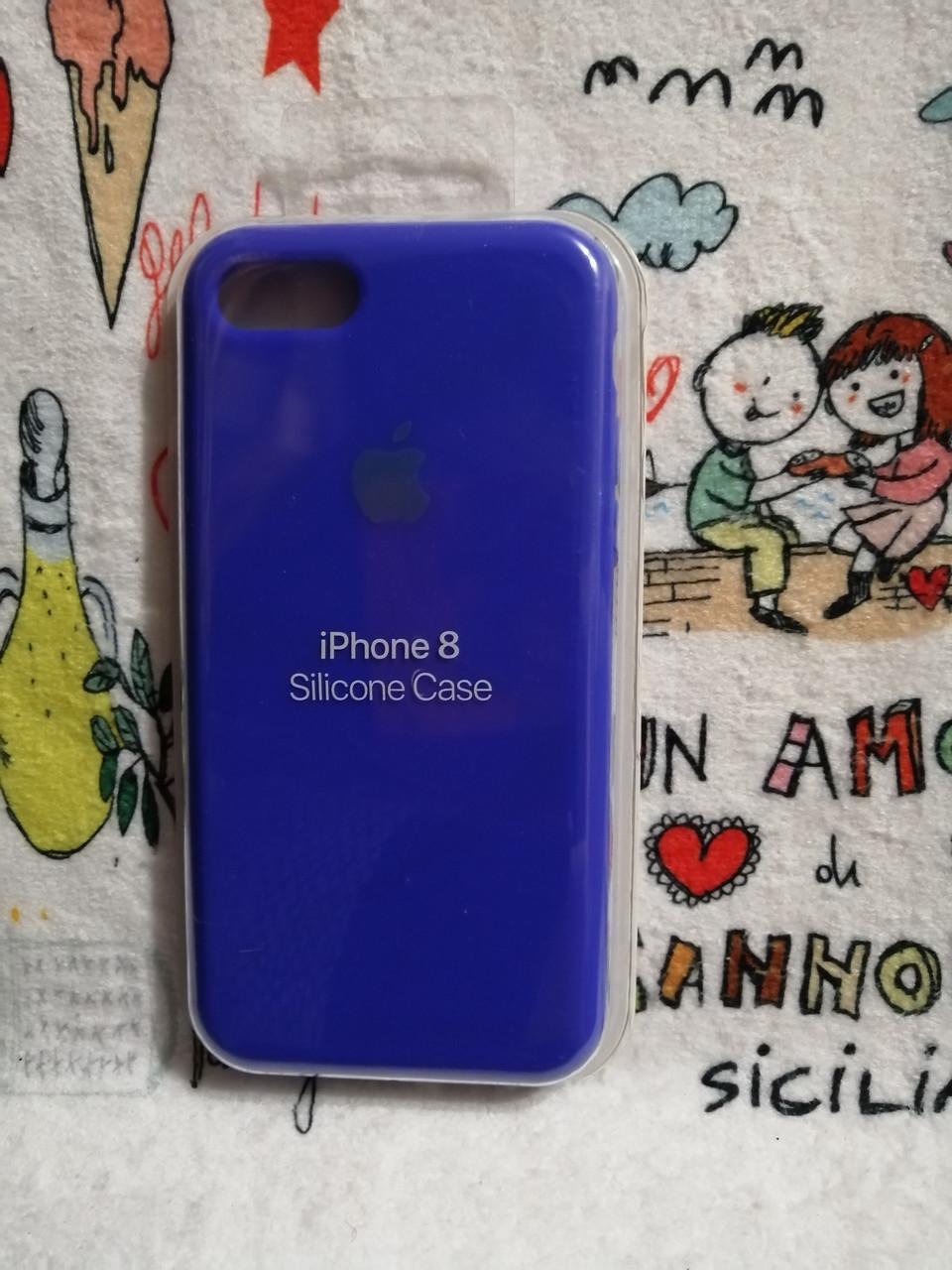 Силиконовый чехолApple Silicone CaseдляiPhone 7 / 8 - Color 33