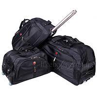 Фирменный комплект дорожных сумок на колесах Wallaroo 3в1, фото 1
