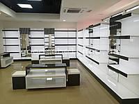 Торговое оборудование, стеллажи, стойки для обувного магазина. ТО-132