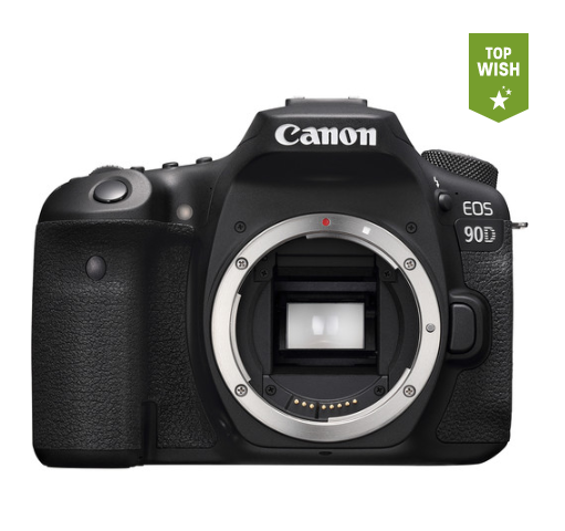 Камера Canon EOS 90D DSLR Camera Body (3616C002)