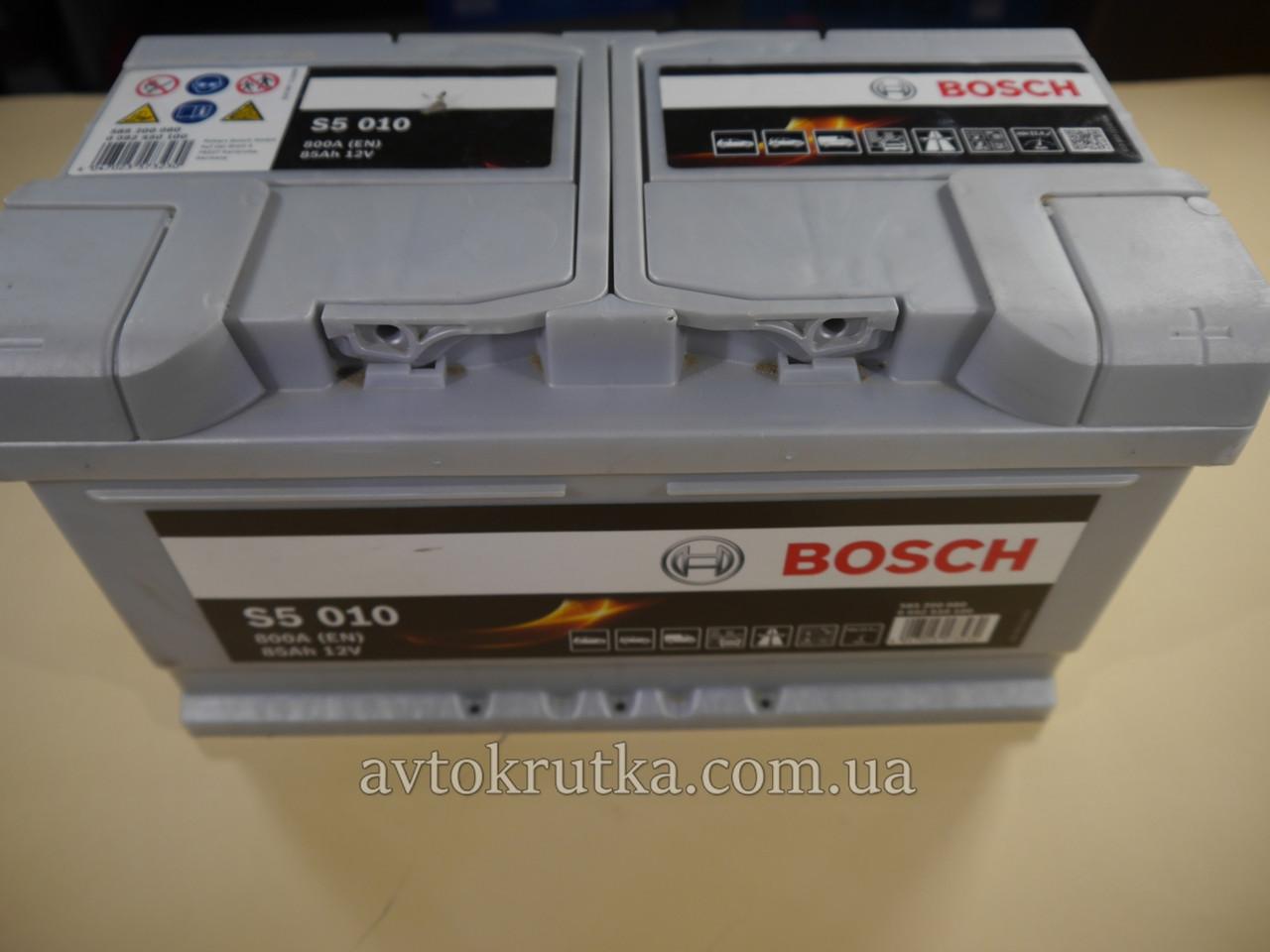 Аккумулятор Bosch S5 010 Silver Plus 85Ah 12V