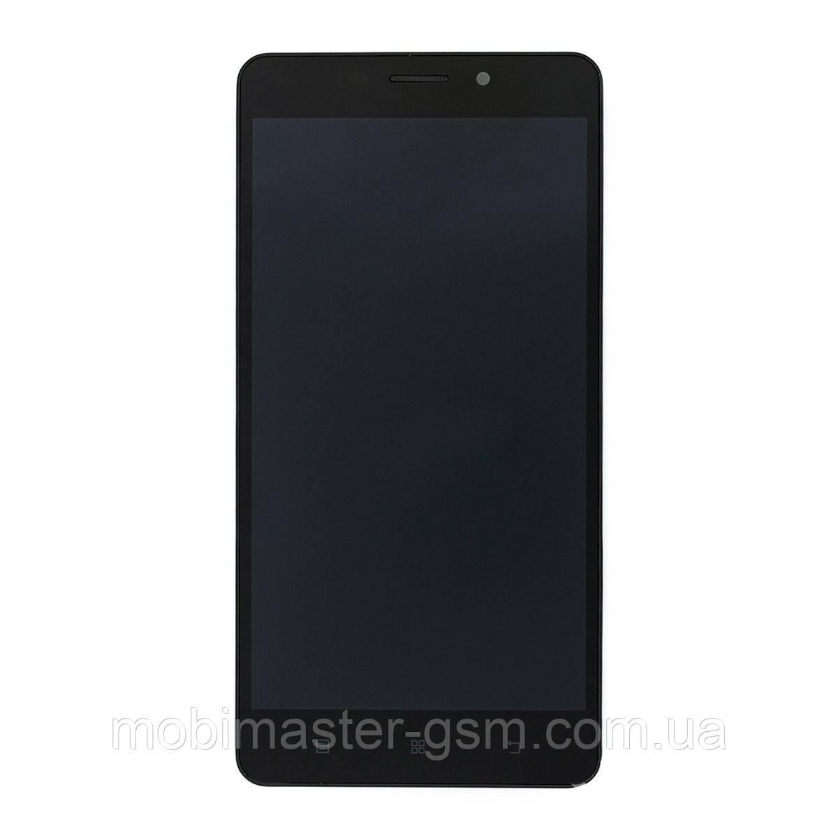 Дисплейный модуль Lenovo A5600 black в рамке