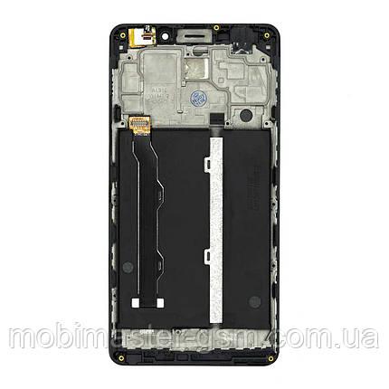 Дисплейный модуль Lenovo A5600 black в рамке, фото 2
