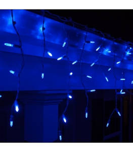 Уличная гирлянда Бахрома 120 LED 4м (Ø 3,3) СИНИЙ( RD7114)