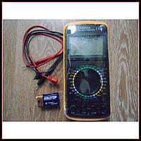 Профессиональный цифровой мультиметр тестер DT-9205 А