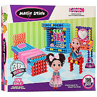 Конструктор для девочек Magic Stick  196дет D1001 (S05442)
