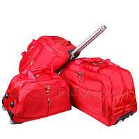 Комплект дорожных сумок на колесах Wallaroo 3в1