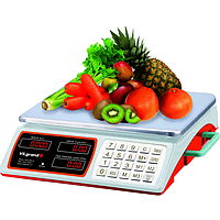 Весы торговые 40 кг (сеть, аккум., батарейка D) ViLgrand VES-4034SH