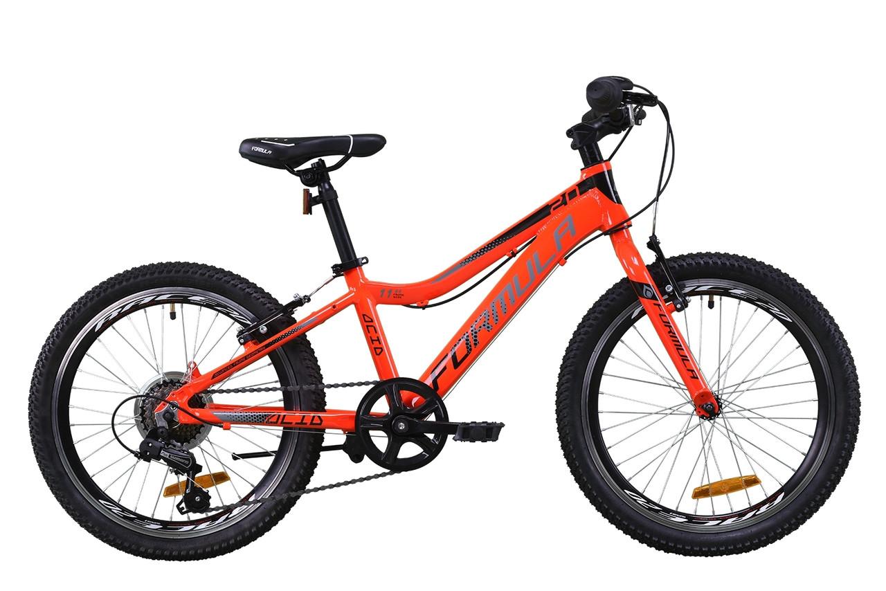 """Велосипед детский 20"""" Formula Acid 14G Vbr 2020 алюминиевая рама 11"""""""