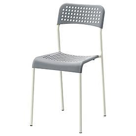 IKEA ADDE Стілець, сірий (102.259.28)