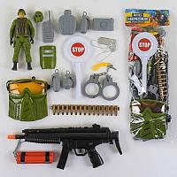 Полицейский набор Спецназ с аксессуарами - 182861