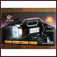 YJ-2836T Фонарь + лампа аккумуляторный от сети +солнечная панель