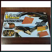 Солнцезащитный антибликовый козырек HD Visor антифары (комплект 2 шт)