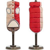 Жилет двустороннний Pet Fashion Мікс червоно/бежевий, ХЅ2, фото 1