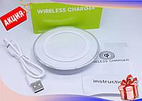 Беспроводное зарядное устройство Samsung Wireless Charger,  универсальная беспроводная зарядка