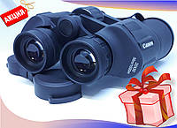 Водонепроницаемый бинокль Canon 20x50 мощный, защитный клапан линз , реплика