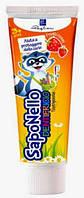 """Детская зубная паста """"SapoNello"""" клубника 3+"""