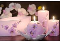 Свеча Орхидея цилиндр 70х140 SKL11-209211