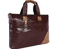 Модная сумка из эко кожи N30922 Коричневая