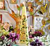 Свеча Садовая роза столбик 70х250мм SKL11-209200