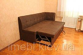 Розкладний кухонний диван (шоколадний)