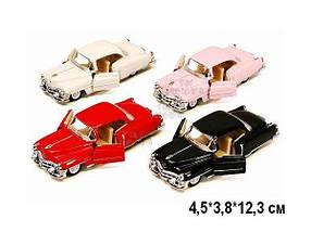KINSMART Cadillac Series 62 Coupe 1953, метал, инерц, 1:36, в кор. 4х3х12 /96-4