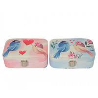 Шкатулка для ювелирных украшений Birds маленький. SKL11-208511, фото 1