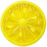 Надувной матрас Лимон (143 см) (S05629)