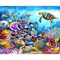 Картина по номерам Черепаховый рай (VP1197) 40 х 50 см DIY Babylon