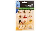 Набор мушек EnergoFish Kamasaki Fly Set 12шт (84309010)