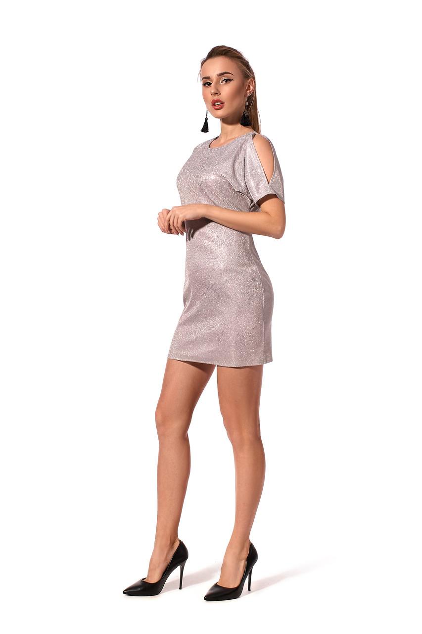 Приталенное платье длиной мини для праздничных событий.Разные цвета