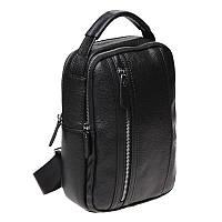 Мужской рюкзак кожаный Keizer K18693-black