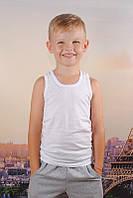Детская майка хлопок 100% EZGI Турция размер 51 (12-13 лет) белая