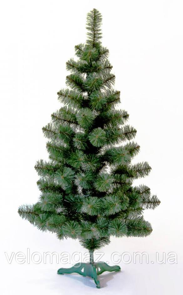 """Новогодняя елочка """"ПРИНЦЕСА"""", ялинка від білки, зеленая, белые кончики иголок, высота в см -"""