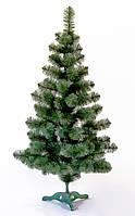 """Новогодняя елочка """"ПРИНЦЕСА"""", ялинка від білки, зеленая, белые кончики иголок, высота в см -, фото 1"""