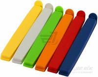 Зажимы для пакетов PRESTO 12 см 6 шт. 420754