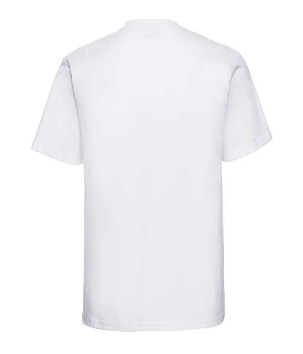 Футболка мужская классическая Russell XXL Белый