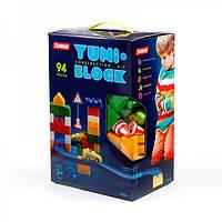 """Конструктор дитячий """"YUNI-BLOK"""" 94 (коробка)"""