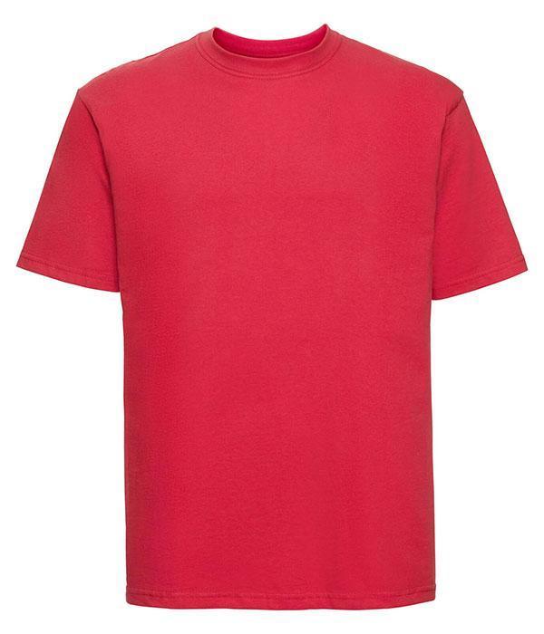 Футболка мужская классическая Russell XS Ярко-Красный