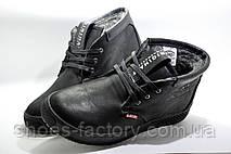 Зимние мужские ботинки Clarks, Кожа на меху, фото 2