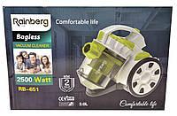 Пылесос Rainberg 651l контейнерный 2500w Пилосос мощный