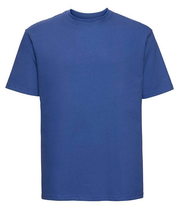 Футболка мужская классическая Russell XL Светло-Синий