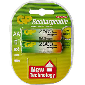 Аккумулятор GP AA R6 2500MAH * 2 GP Блистер *3011012949 [1990]